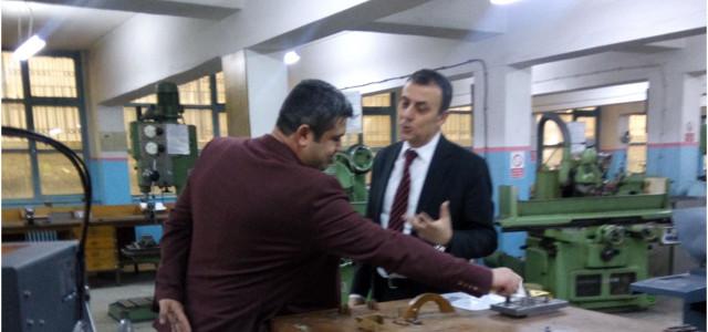 17 Nisan 2018 Gazi Anadolu Teknik Meslek Lisesi ziyareti